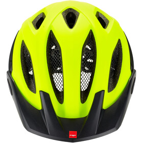 MET Crossover Cykelhjelm, safety yellow/white/black